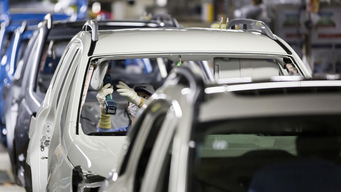 Завод Subaru встал в Японии