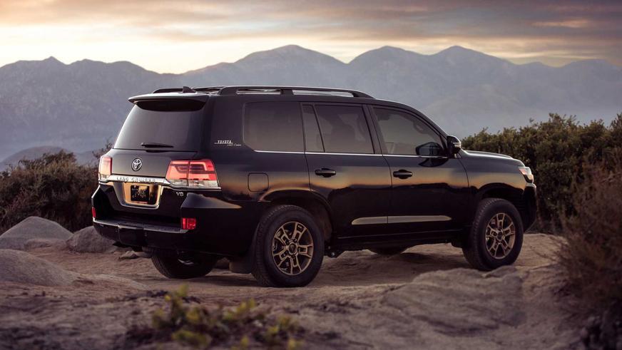 Toyota выпустит 1 200 особенных Land Cruiser 200