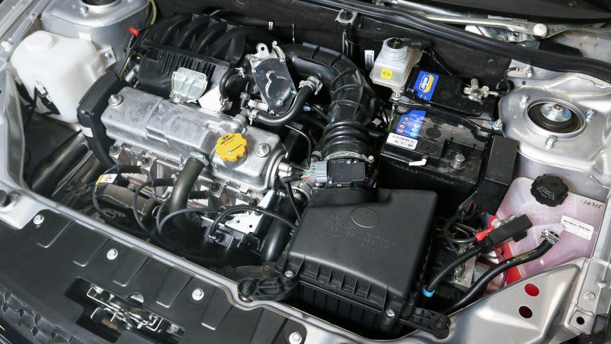 LADA Kalina Cross - 2015 - двигатель