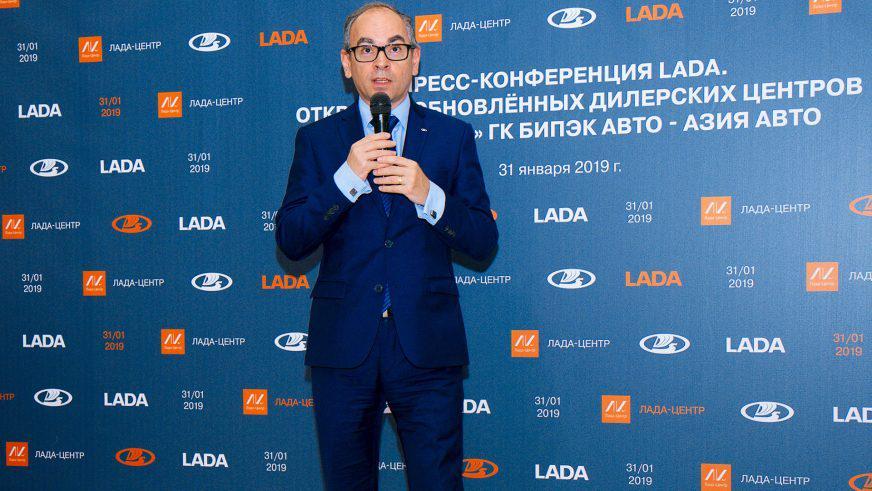 Президент АВТОВАЗа Ив Каракатзанис