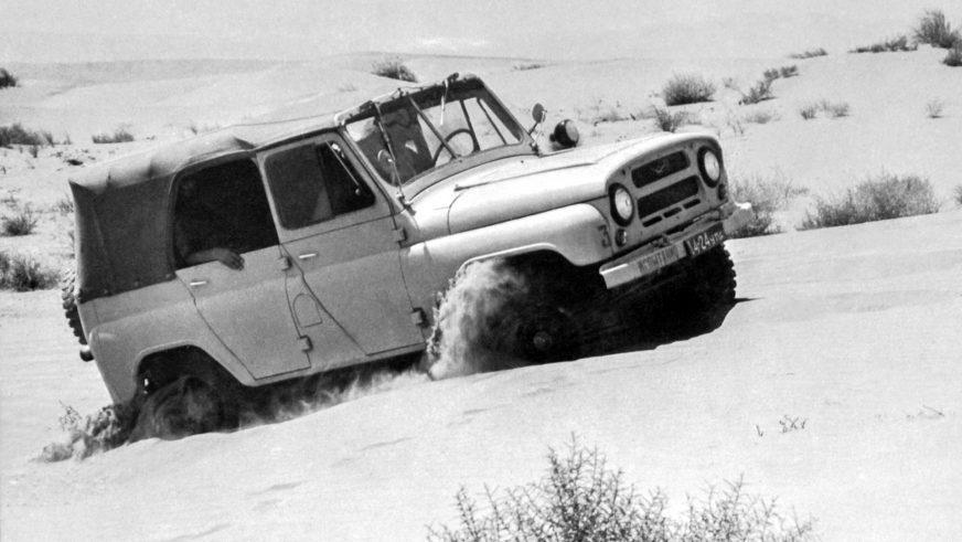 UAZ Hunter превратят в грузовик