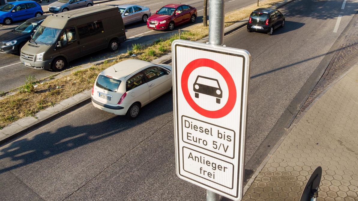 Немцы недовольны ограничением для дизелей. Начались протесты