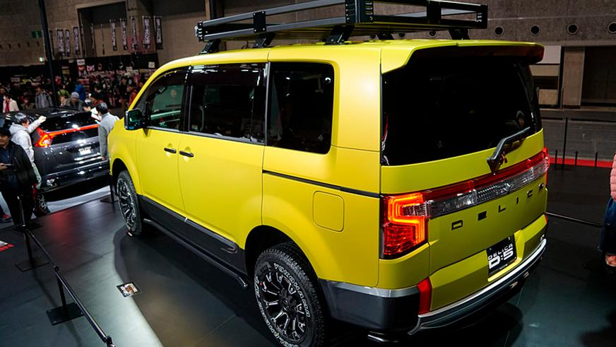 Mitsubishi подготовила новую Delica для лёгкого бездорожья
