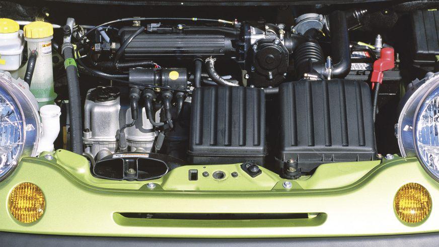 Daewoo Matiz - 2012 - двигатель
