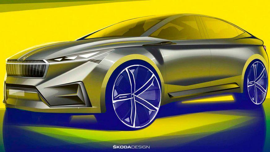 Škoda привезёт в Женеву электрический концепт