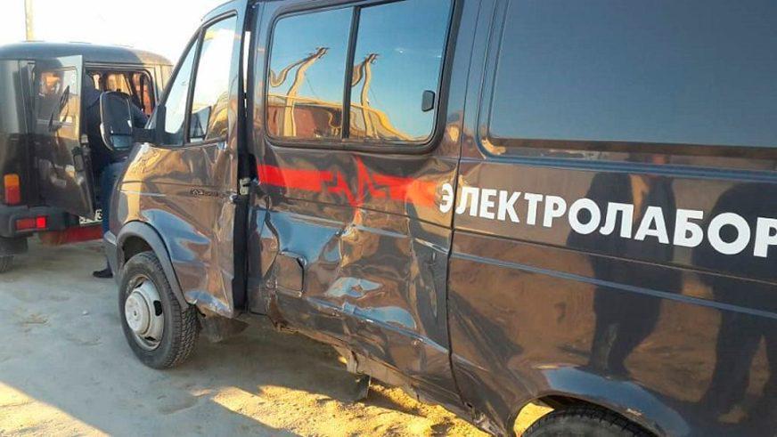 Замакима Мангистауской области попал в аварию