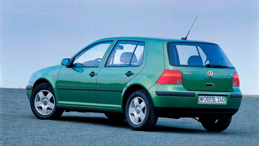 1997 год — Volkswagen Golf IV