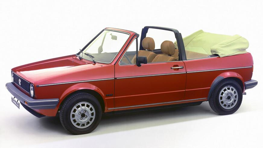 1979 год — Volkswagen Golf I Cabriolet
