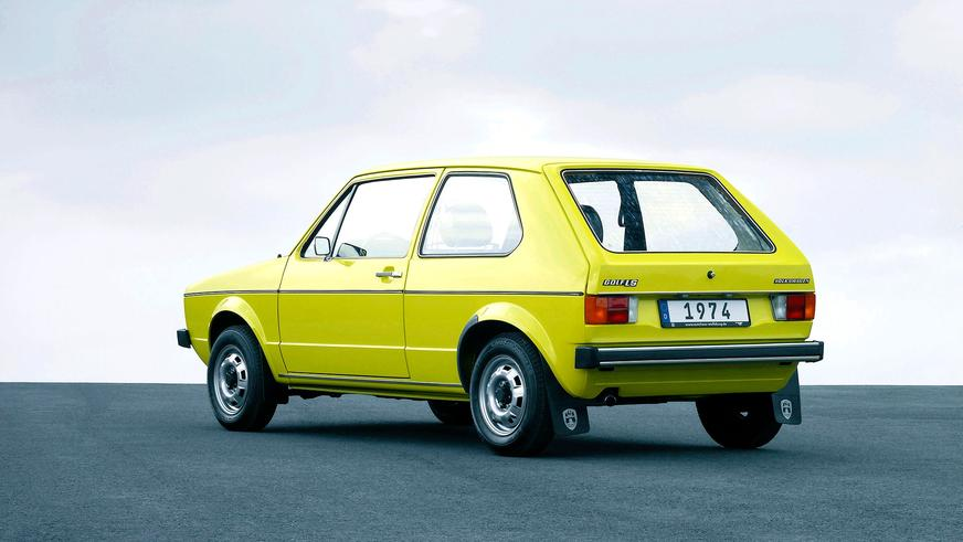1974 год — Volkswagen Golf I