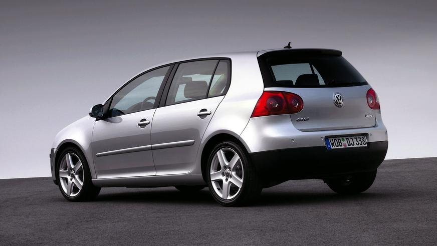 2003 год — Volkswagen Golf V