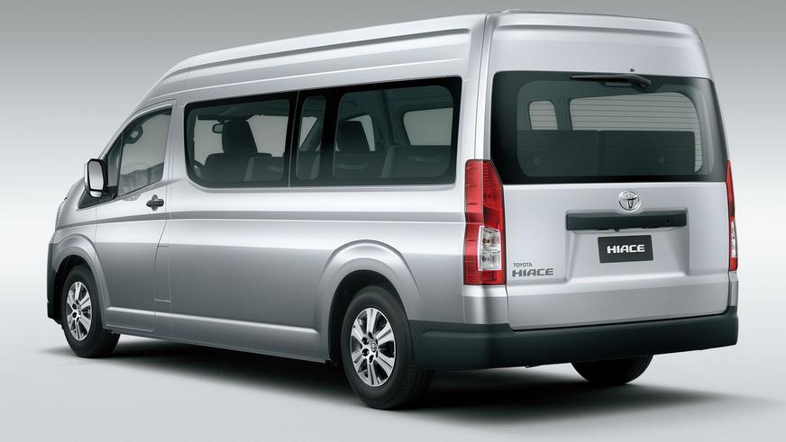 Пятое поколение Toyota Hiace представили официально