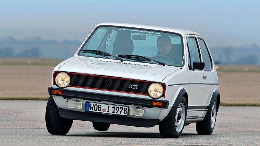1976 год — Volkswagen Golf I GTI