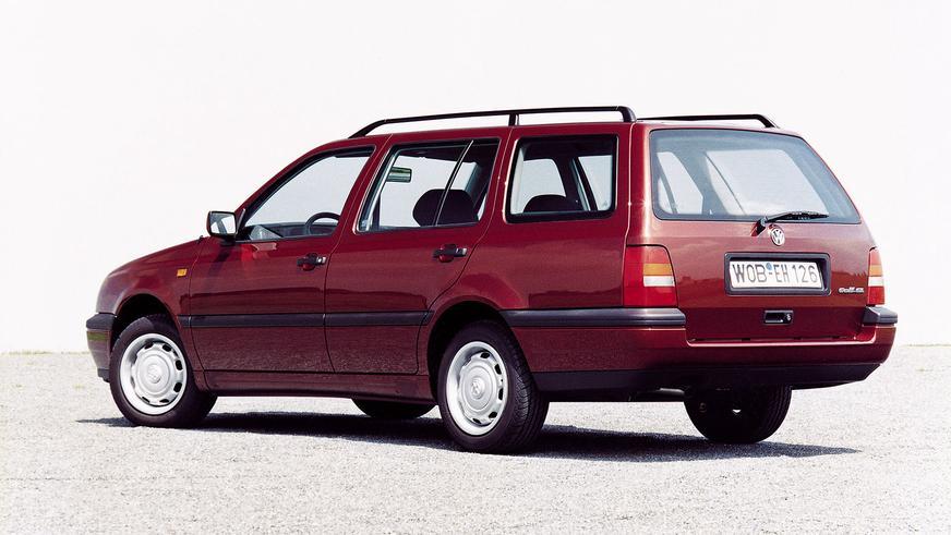 1993 год — Volkswagen Golf III Variant