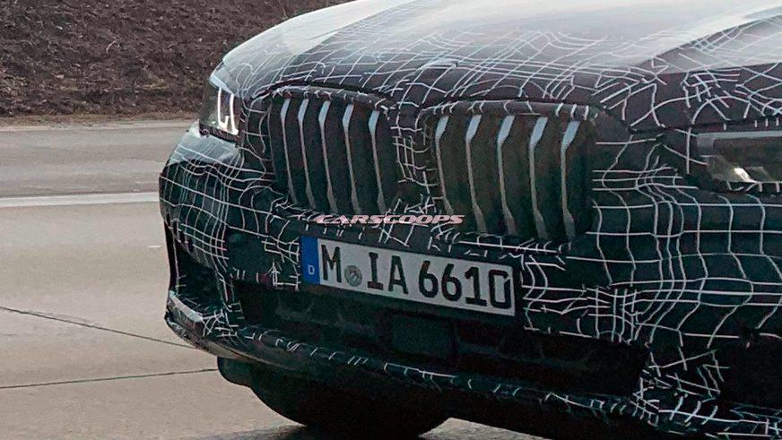 Прототип нового BMW X6 выкатили на дорожные испытания