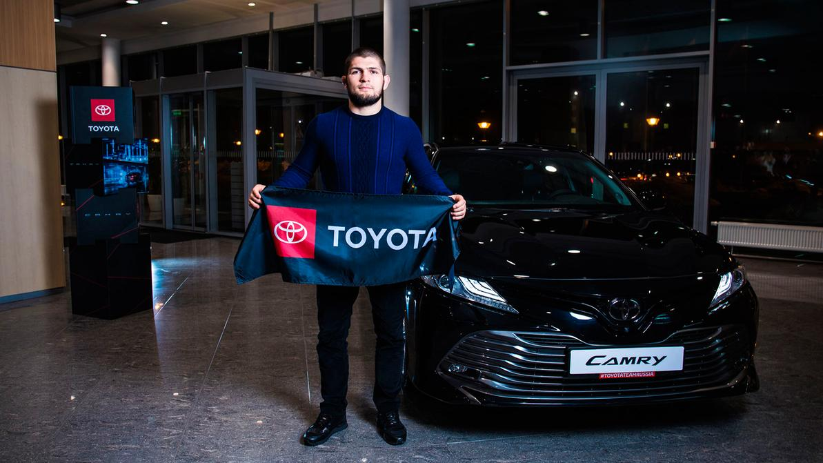 Хабиб Нурмагомедов стал лицом Toyota