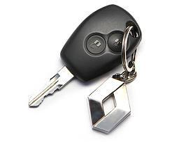 Renault Logan - 2014 - ключ
