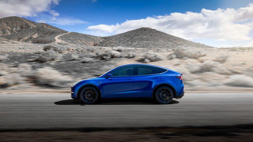 Tesla делает S3XY. Представлен Model Y