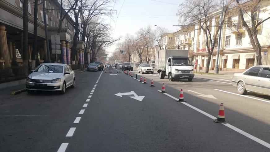 На обновление дорожной разметки в Алматы уйдёт пять месяцев