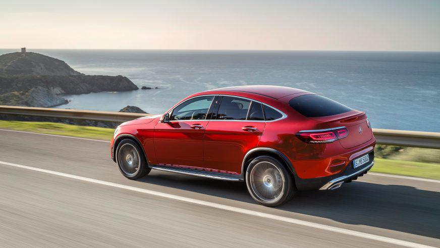 Mercedes-Benz GLC Coupe обновили