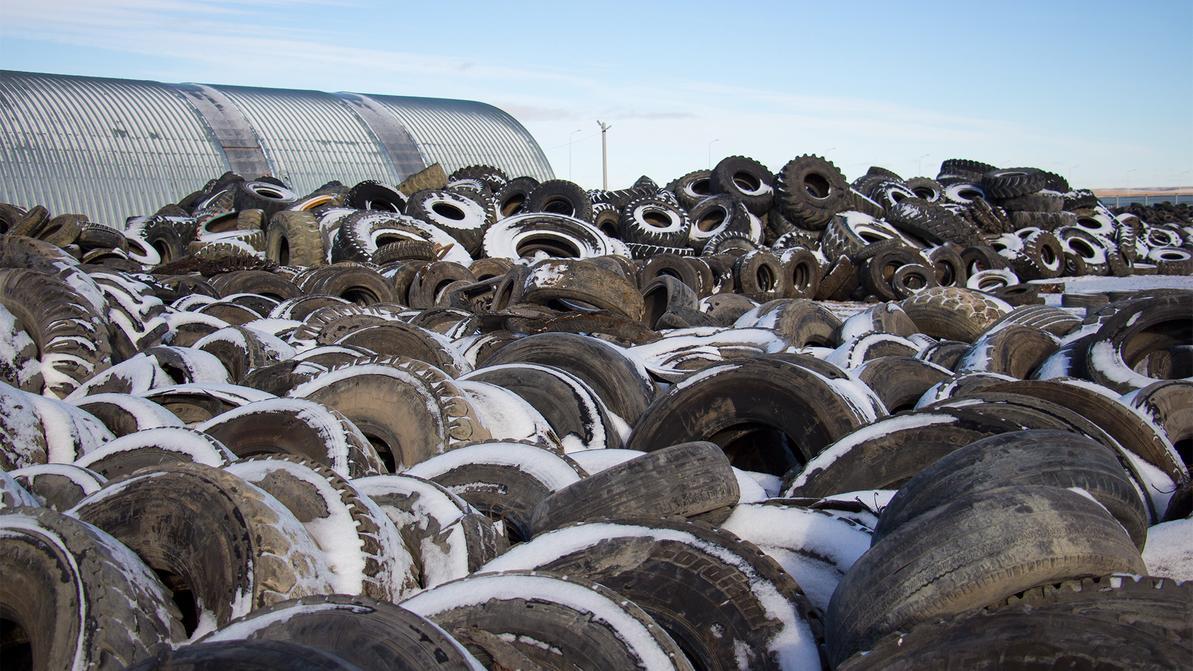 За два года в РК переработали более 100 тысяч тонн старых шин, масел и аккумуляторов