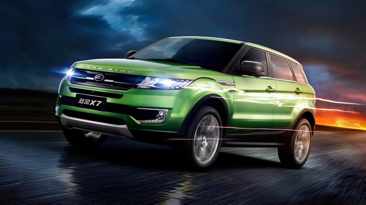 Land Rover отстоял права на дизайн Evoque в Китае