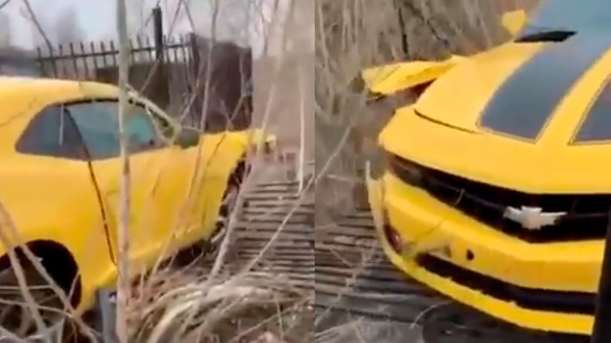 Автомойщик разбил Camaro в Усть-Каменогорске