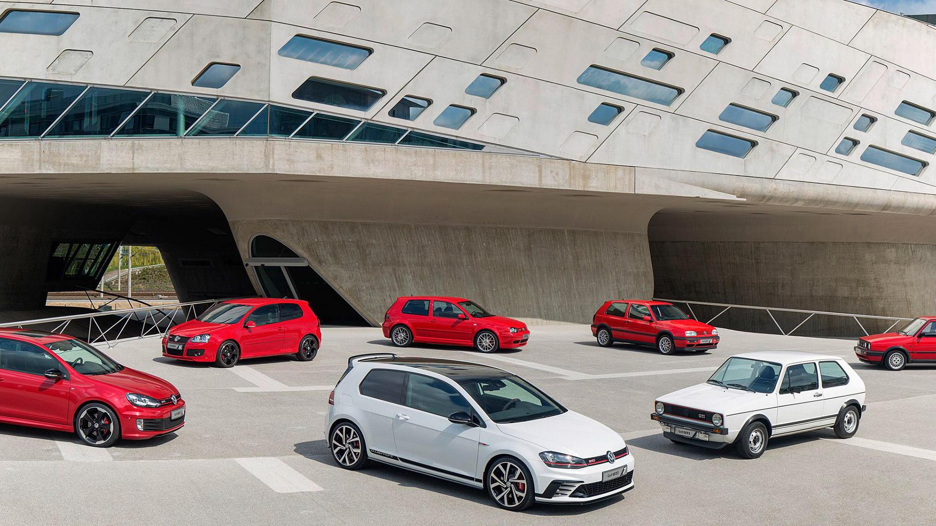 У Volkswagen Golf юбилей