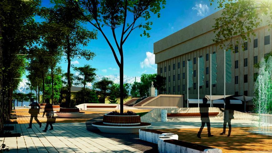 Так будет выглядеть Жибек жолы в Алматы после реконструкции