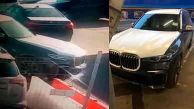 Новенький BMW X7 угнали из автосалона