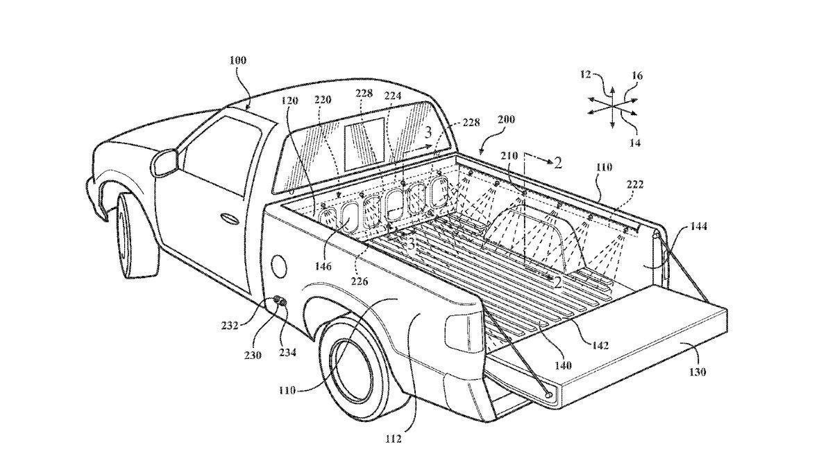 Toyota прокачает свои пикапы встроенной мойкой