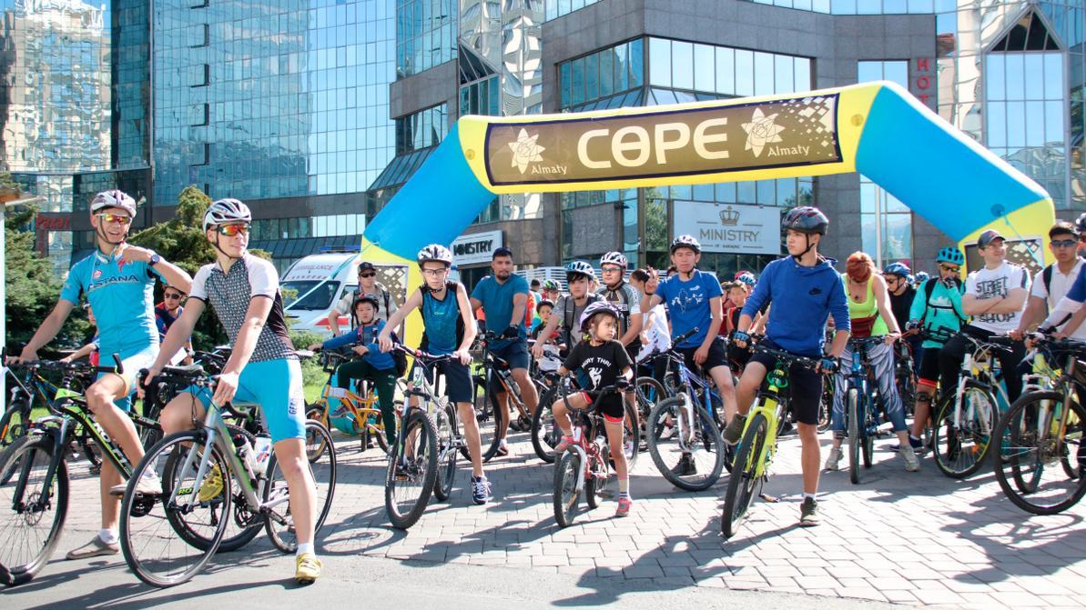 Сезон велопробегов – 2019 стартует в Алматы в воскресенье