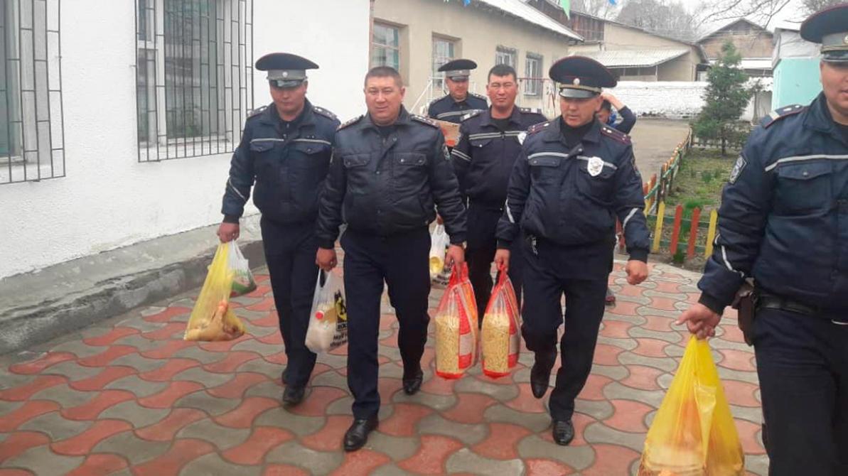Иссык-кульские гаишники, чтобы снизить количество ДТП… зарезали барана