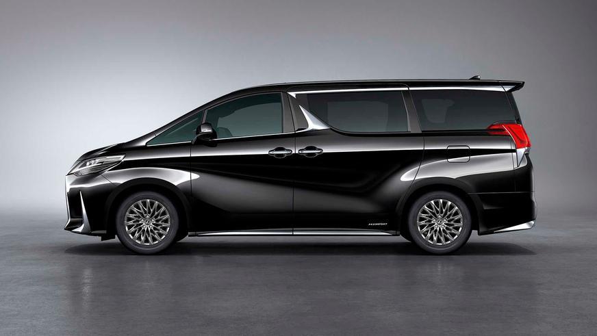 Lexus LM представлен официально
