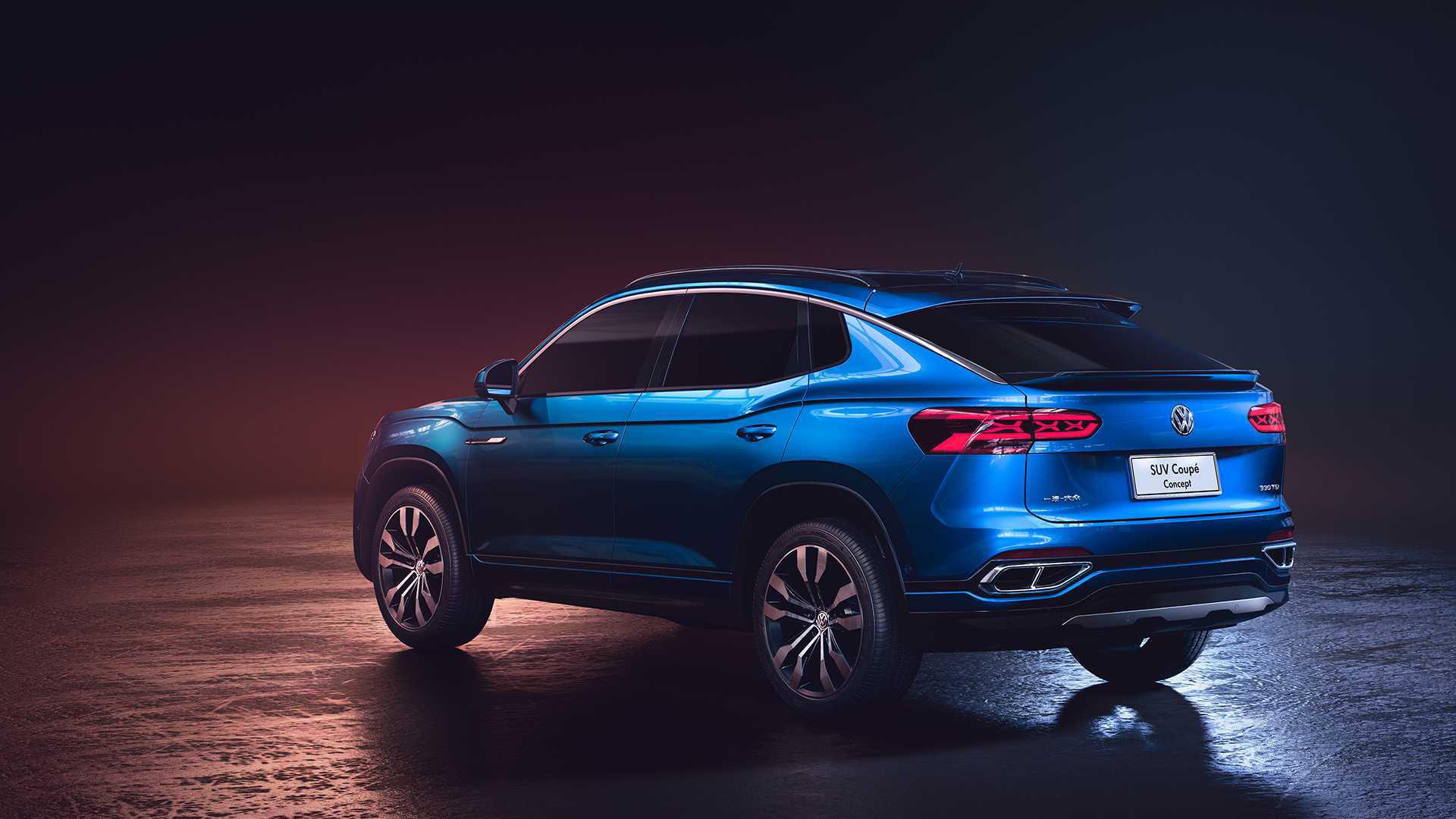 Volkswagen презентовал собственный кроссовер-купе