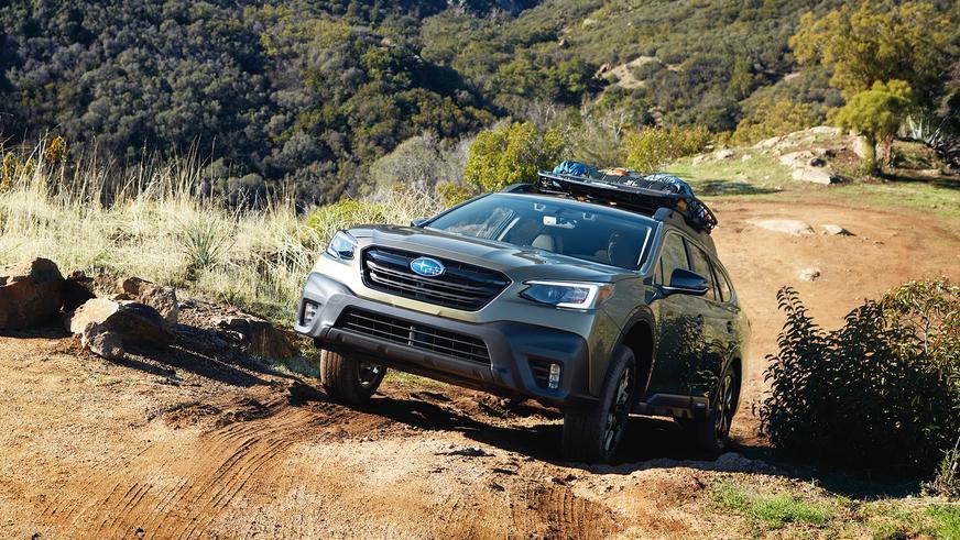 Новый Subaru Outback показали в Нью-Йорке