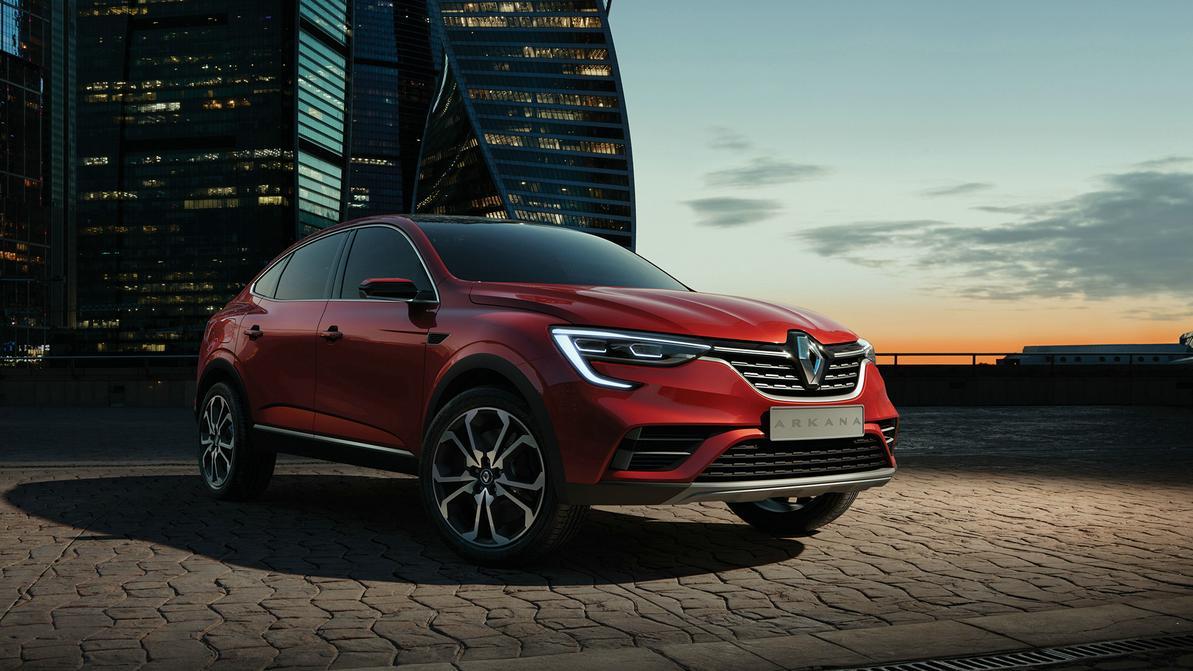 Renault Arkana получит мотор 1.6