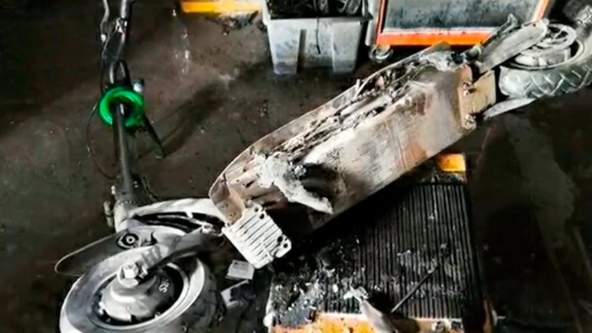 Электросамокат взорвался в московской квартире