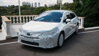 Toyota Corolla на спирте по-бразильски