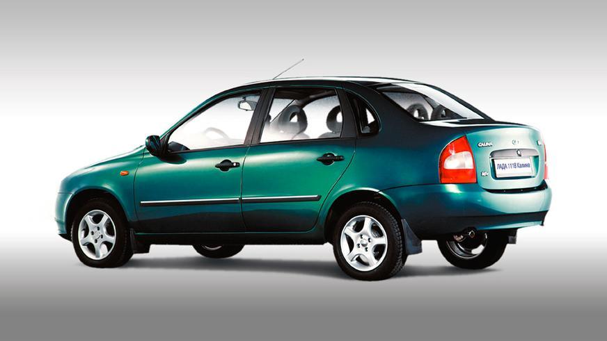 2001 год — опытные образцы, в том числе ВАЗ-1118 (седан), представлены на ММАС