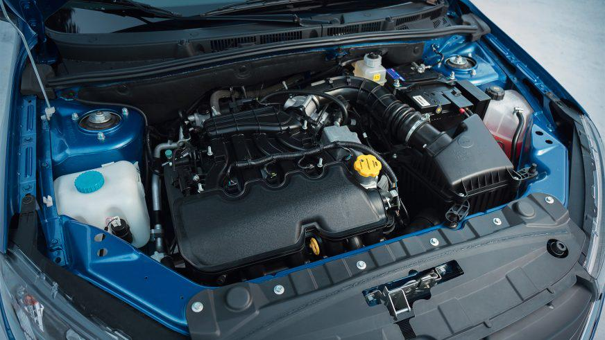 Lada Granta - 2019 - двигатель