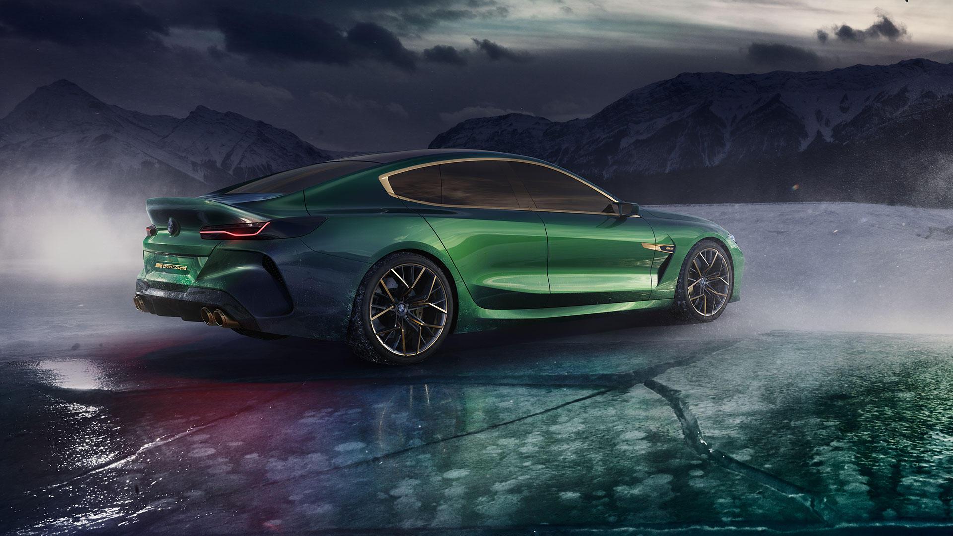 BMW 8-Series Gran Coupe покажут в конце июня