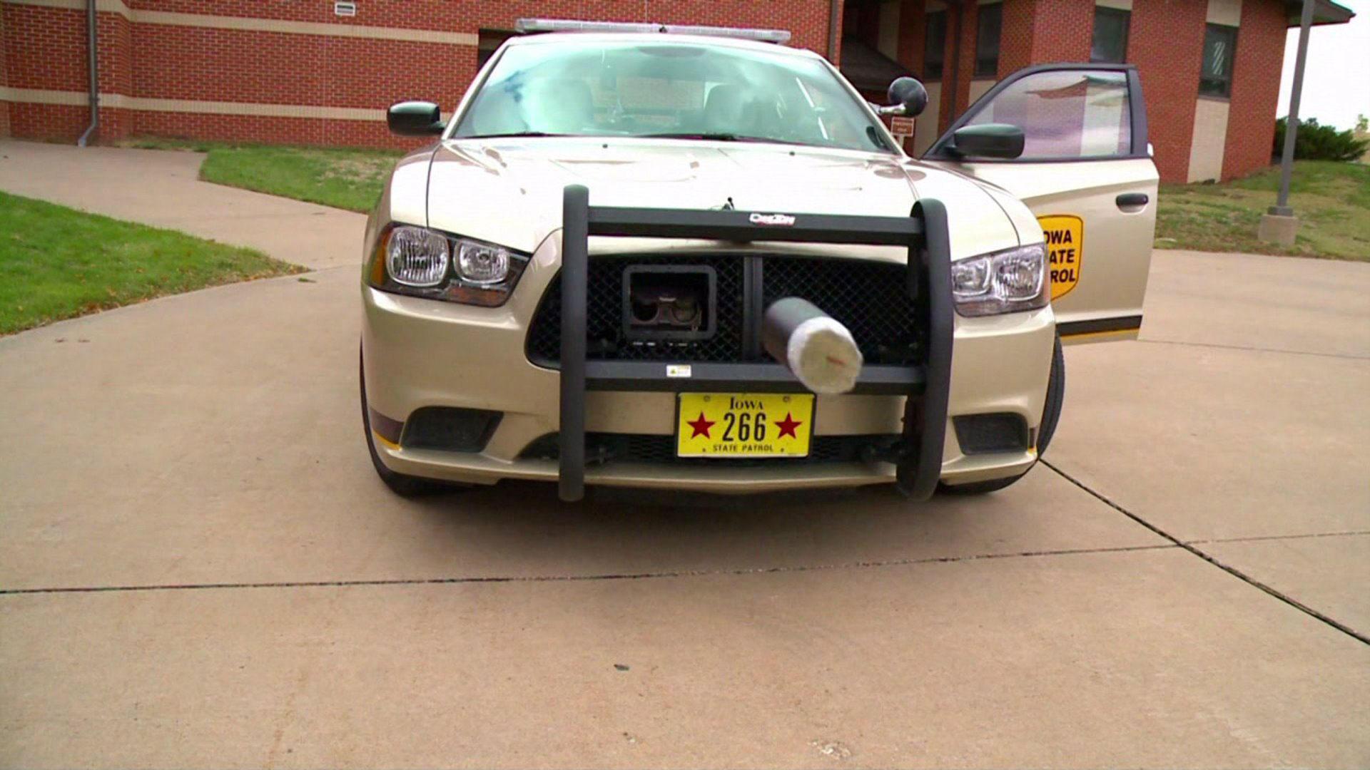 Пушки появились на полицейских авто в США