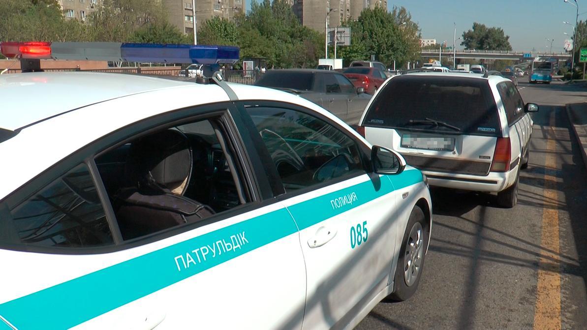 Угонщику в Алматы очень хотелось попасть домой