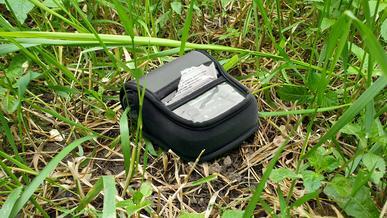 Принтер для распечатки копий протоколов потерял патрульный в Караганде