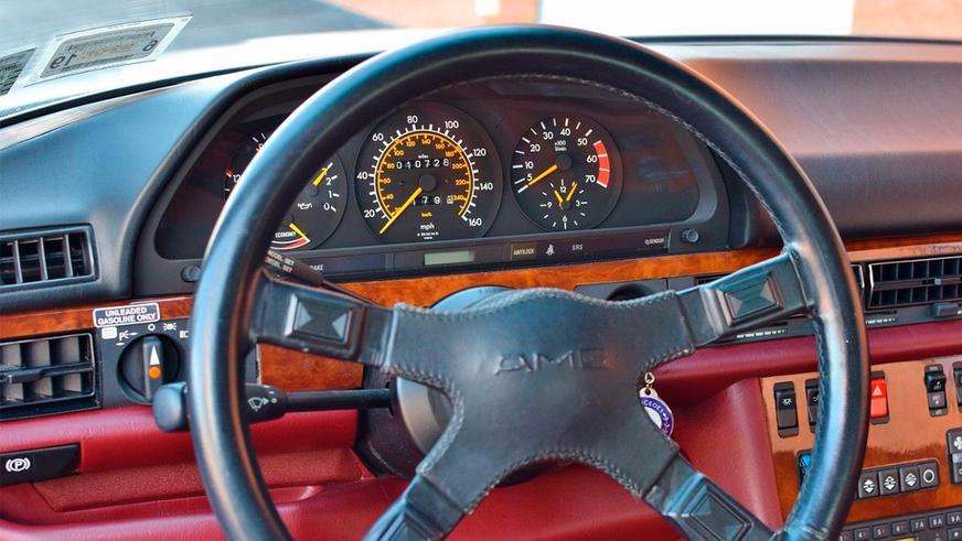Mercedes-Benz 500 SEC AMG почти без пробега