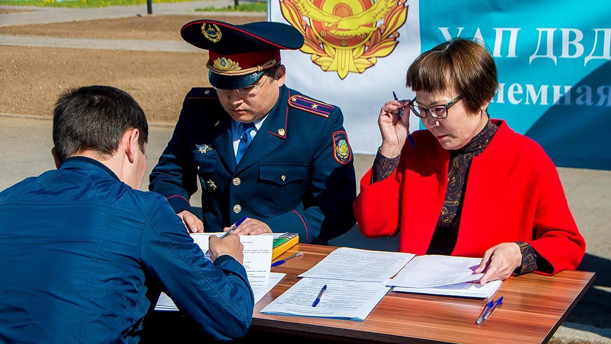Руководство полиции встретится лицом к лицу с населением
