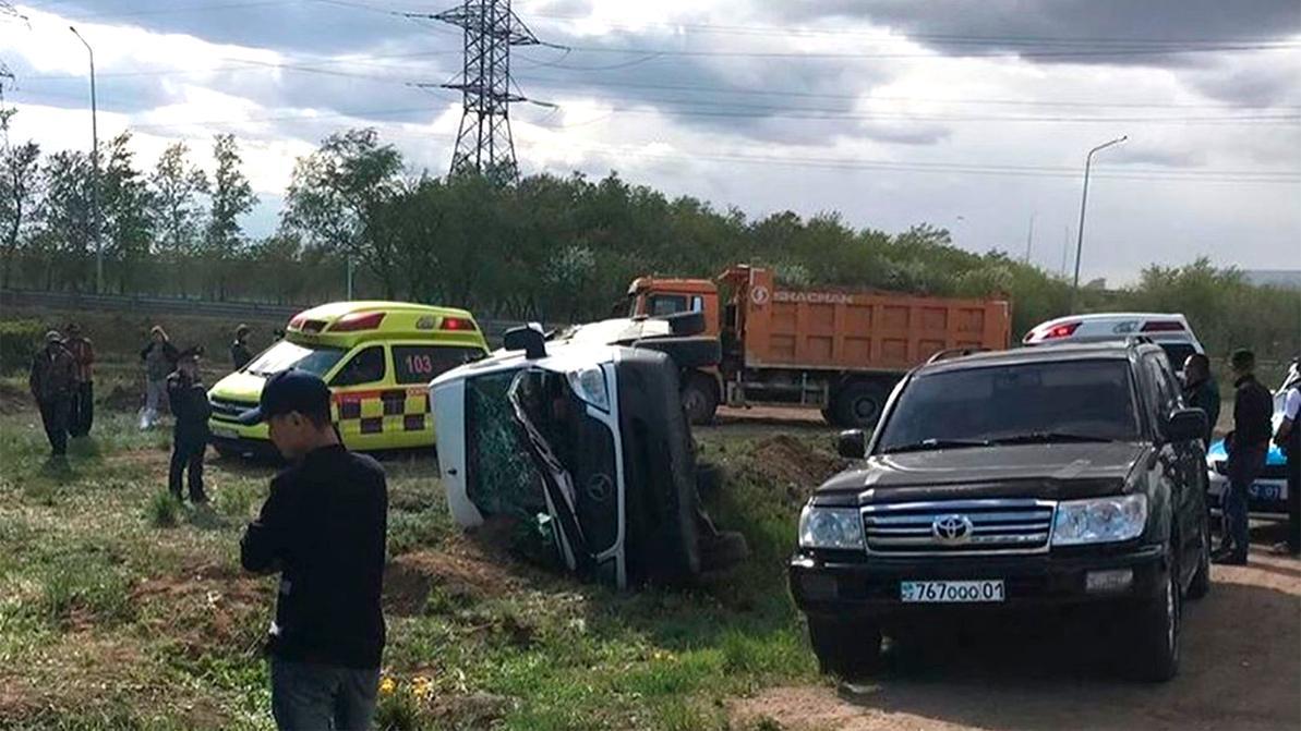 11 человек пострадали в ДТП в Нур-Султане