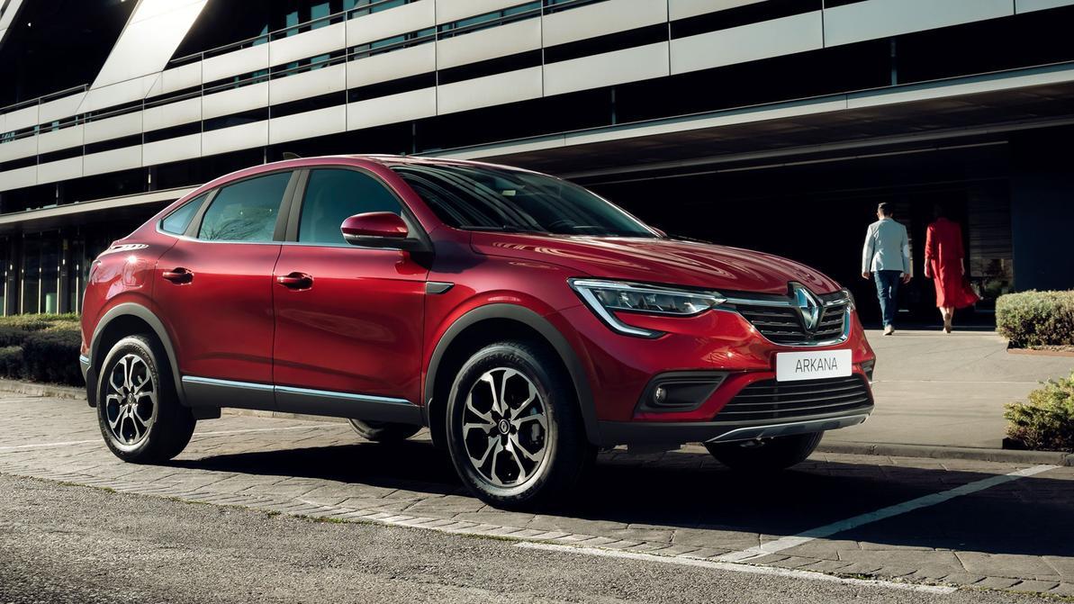 Сколько может стоить Renault Arkana в Казахстане