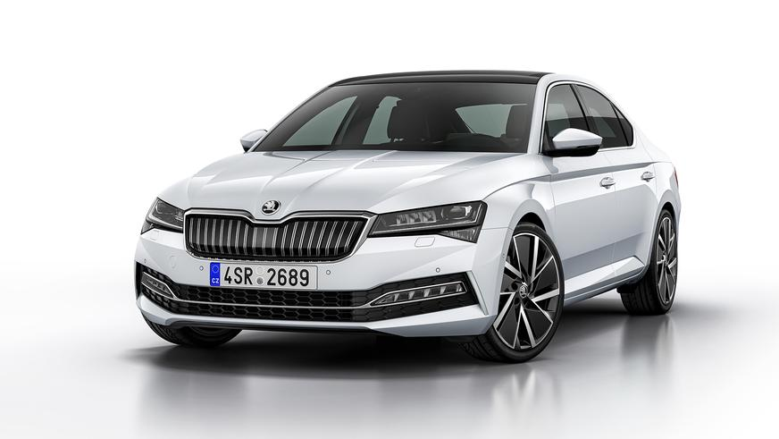 Обновлённый Škoda Superb стал гибридом