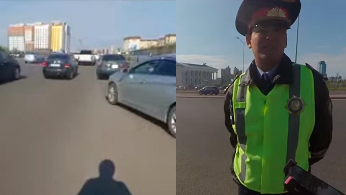 Патрульный в Нур-Султане: Мы разрешаем нарушить правила!